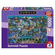 Puzzle 1000 db-os - Chattanoga - Dowdle - Schmidt 59641