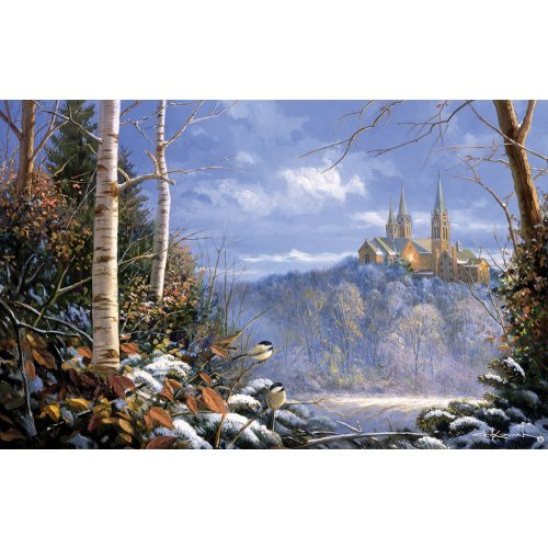 Sunsout 1000 db-os puzzle - Sam Timm - Holy Hill Sentinels 29210