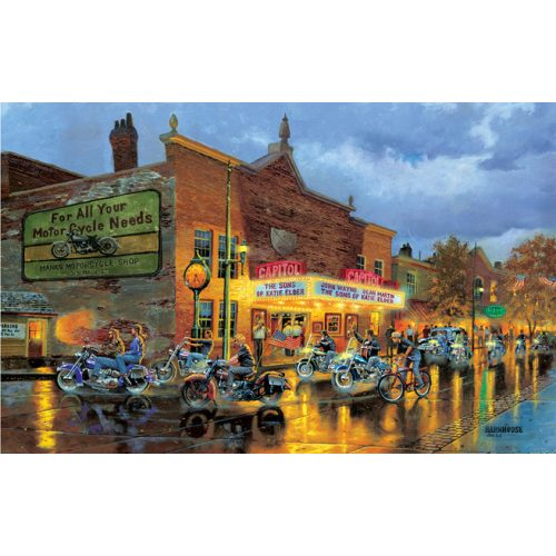 Sunsout 500 db-os puzzle - Dave Barnhouse - American Classics 60218