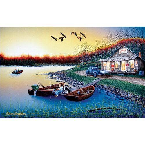 Sunsout 500 db-os puzzle - Don Engler - Jack's Place 60370