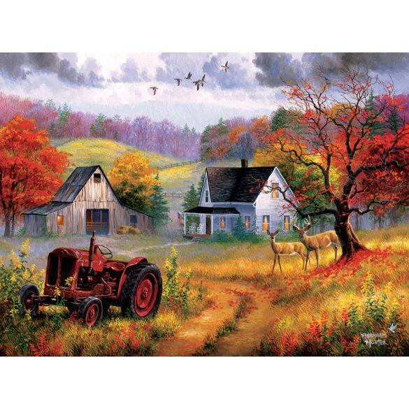 Sunsout 1000 db-os puzzle - Abraham Hunter - Heartland Home 69626