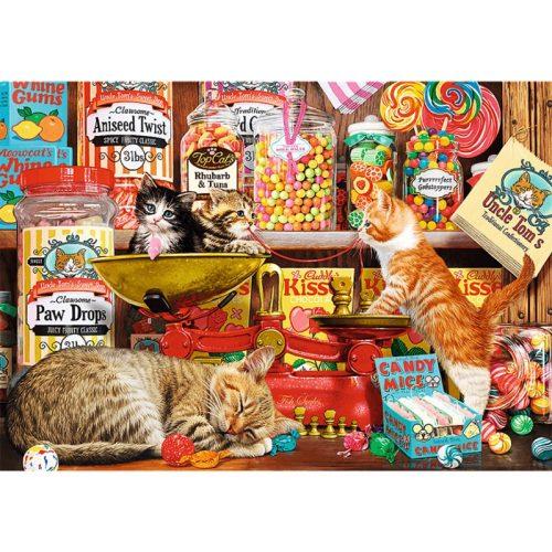 Trefl Macska édességek - 1000 db-os puzzle 10630