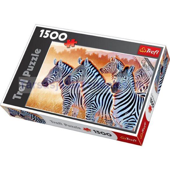 Trefl Zebrák 1500 db-os puzzle (26129)