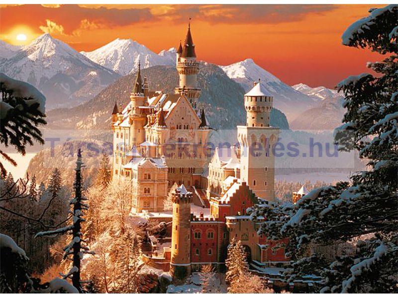 Trefl Neuschwanstein kastély télen - 3000 db-os puzzle (33025)