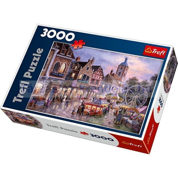 Trefl Kisvárosi vidámpark 3000 db-os puzzle (33033)
