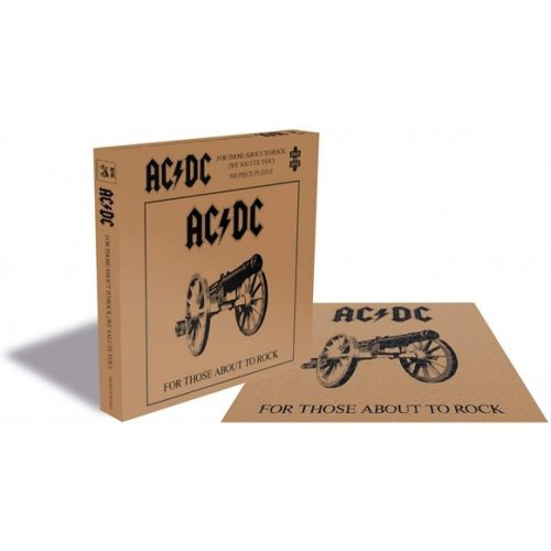 Rock Saws 500 db-os puzzle - AC/DC - For Those About To Rock 25752