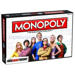 Monopoly Agymenők - The Big Bang Theory Monopoly társasjáték