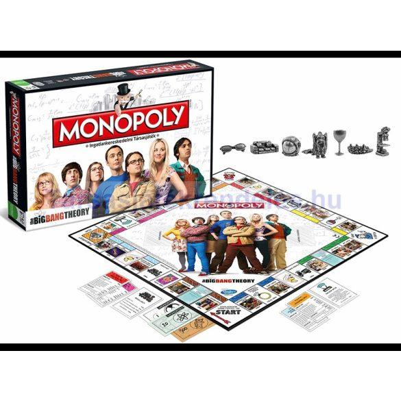 Monopoly Agymenők - The Big Bang Theory Monopoly társasjáték