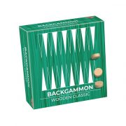 Tactic - Klasszikus Backgammon fajáték fadobozban