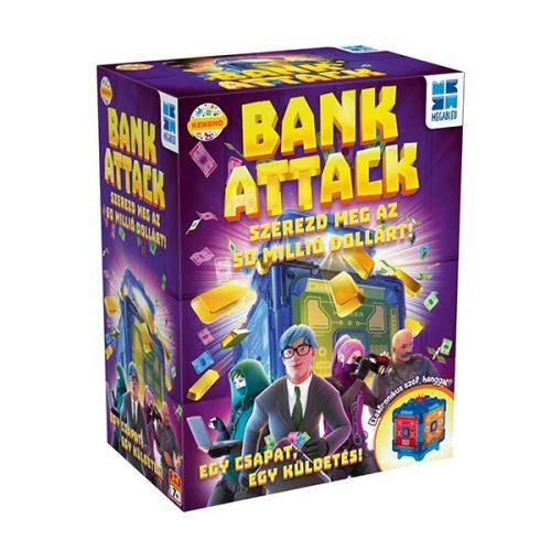 Bank Attack kooperatív társasjáték