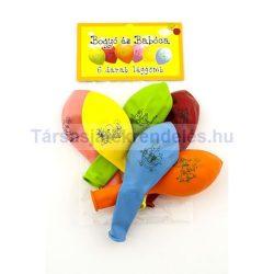 Bogyó és Babóca színes léggömbcsomag - 6 db