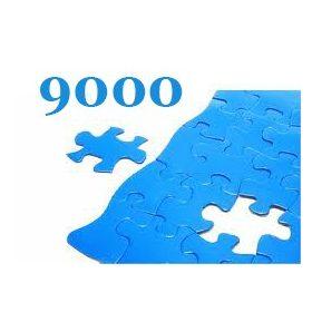 9000 darabos