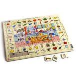 Oktató lap puzzle
