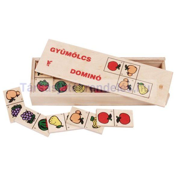 Fa dominó gyümölcsös (0146)