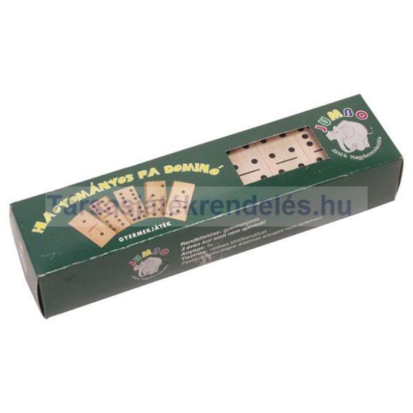 Fa dominó hagyományos (0558)