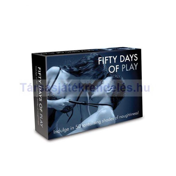 Fifty Days Of Play erotikus társasjáték - angol nyelvű