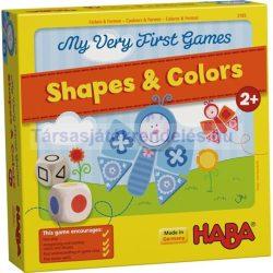 Legelső játékom - Formák és Színek társasjáték - Haba