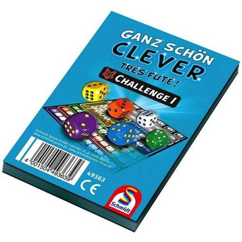 Ganz Schön Clever Challenge Block