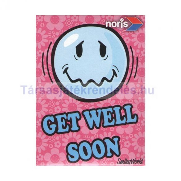 Smiley World Get Well Soon 54 darabos mini puzzle - Noris