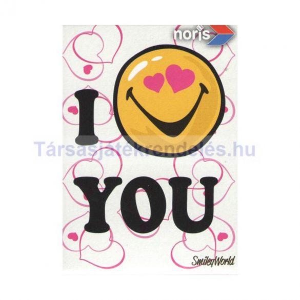 Smiley World I Love You 54 darabos mini puzzle - Noris