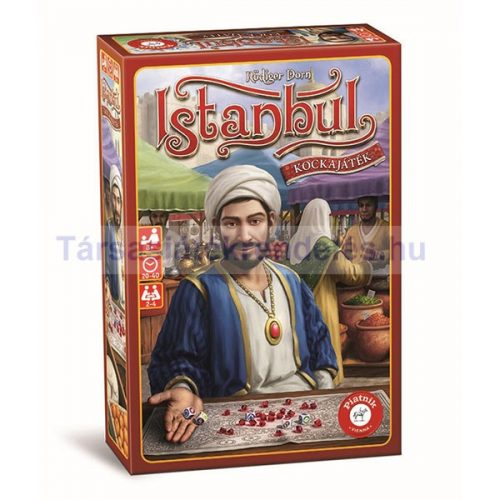Istanbul Kockajáték társasjáték - Piatnik