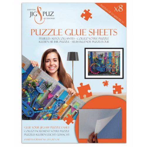 Jig&Puz puzzle ragasztó lapok - 1000 db-ig