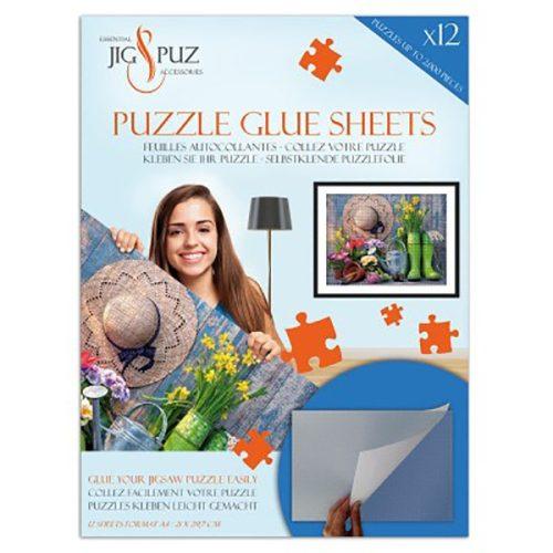Jig&Puz puzzle ragasztó lapok - 2000 db-ig