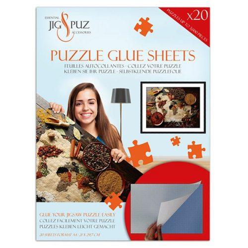Jig&Puz puzzle ragasztó lapok - 3000 db-ig