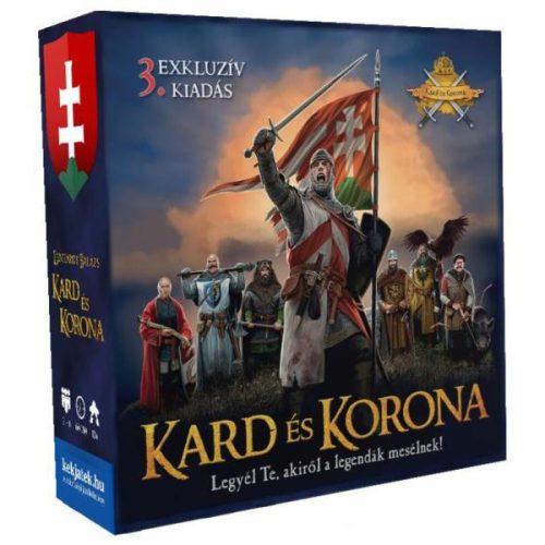 Kard és Korona társasjáték - 3. kiadás