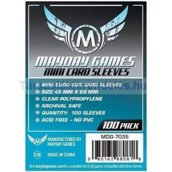 Mayday Mini Euro kártyavédő 45 x 68 mm - 100 db-os