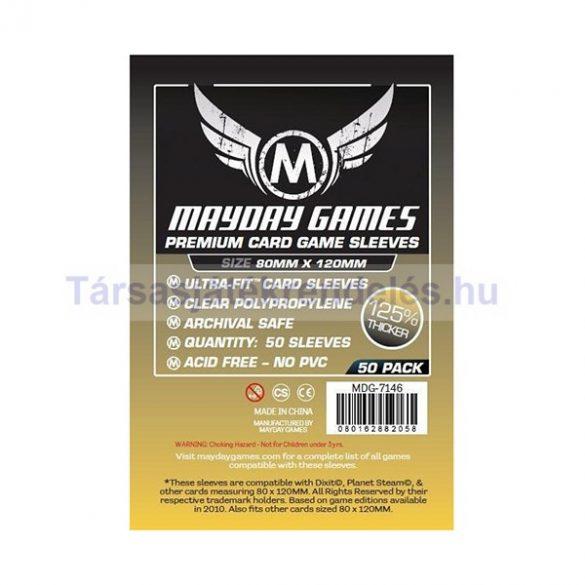 Mayday Games Prémium kártyavédő 80 x 120 mm - 50 db-os (MDG-7146)