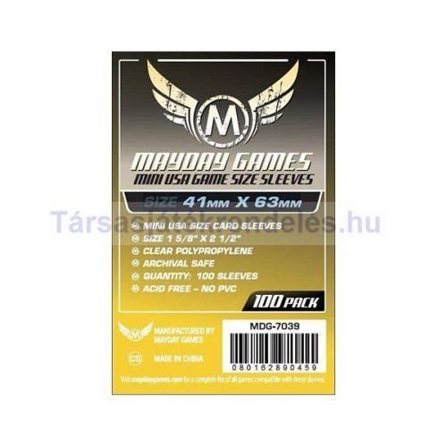Mayday Games Mini USA méretű kártyavédő 41 x 63 mm - 100 db-os (MDG-7039)