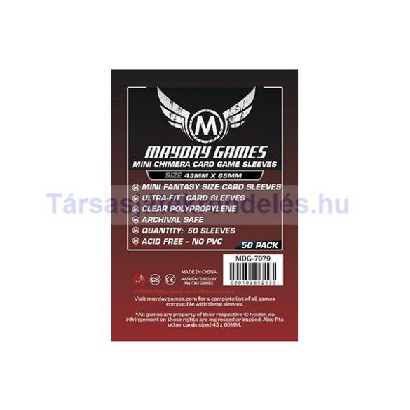 Mayday Games Mini Chimera kártyavédő 43 x 65 mm 50db-os (MDG-7079)