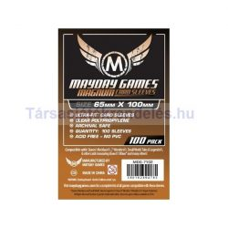 Mayday Magnum kártyavédő 65 x 100 mm - 100 db-os