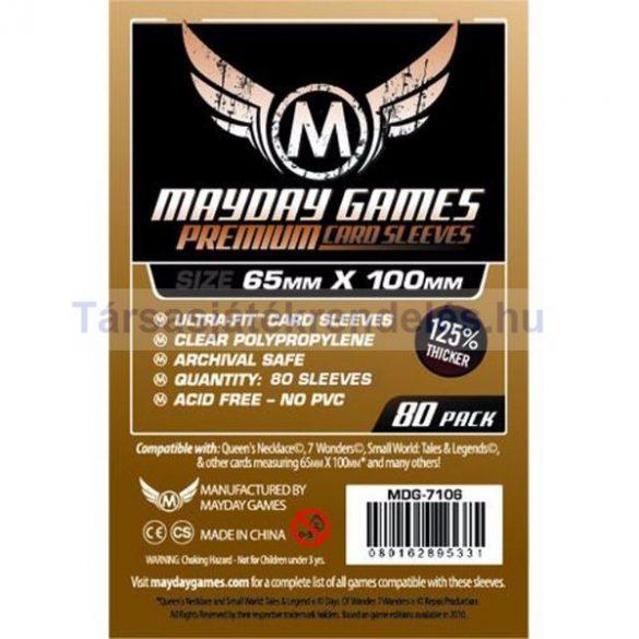Mayday Games Premium kártyavédő 65 x 100 mm - 80 db-os (MDG-7106)