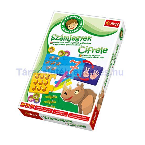Trefl Kis felfedező oktató játékgyűjtemény - Számjegyek (01196)