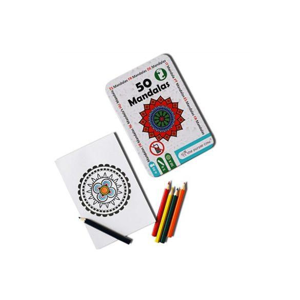 50 Mandala - foglalkoztató kártyák