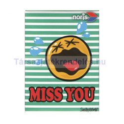 Smiley World Miss You 54 darabos mini puzzle - Noris