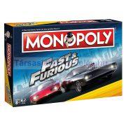 Monopoly Halálos iramban társasjáték - angol nyelvű