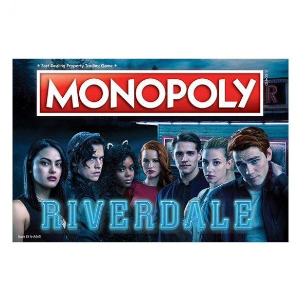 Monopoly Riverdale társasjáték - Hasbro - angol nyelvű
