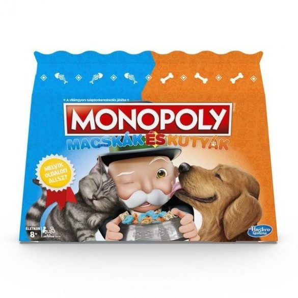 Monopoly Macskák vs kutyák társasjáték - Hasbro