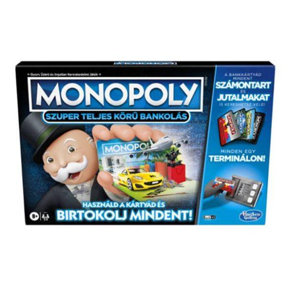 Monopoly Szuper teljes körű bankolás társasjáték - Hasbro