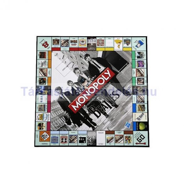 Monopoly The Beatles - gyűjtői kiadás - magyar leírással