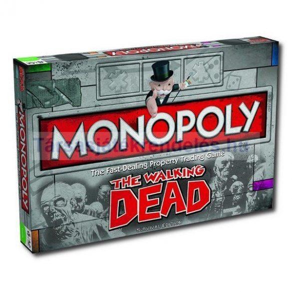 Monopoly The Walking Dead társasjáték - angol nyelvű