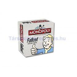 Monopoly Fallout társasjáték - gyűjtői kiadás - angol nyelvű