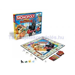 Monopoly Junior Electronic Banking társasjáték - magyar kiadás