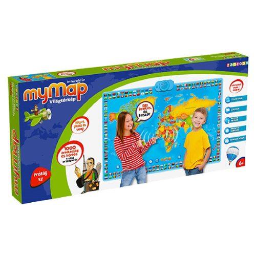 MyMap - Az én világtérképem interaktív fejlesztő társasjáték