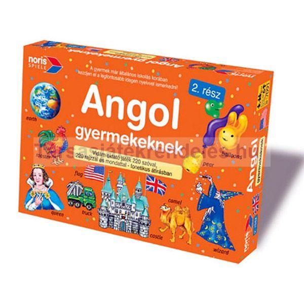 Angol gyermekeknek társasjáték - 2. rész - Noris