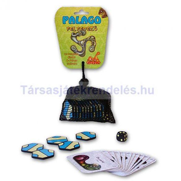 Palago kirakó - felfedező játékkészlet 12 lapkával, hálóban