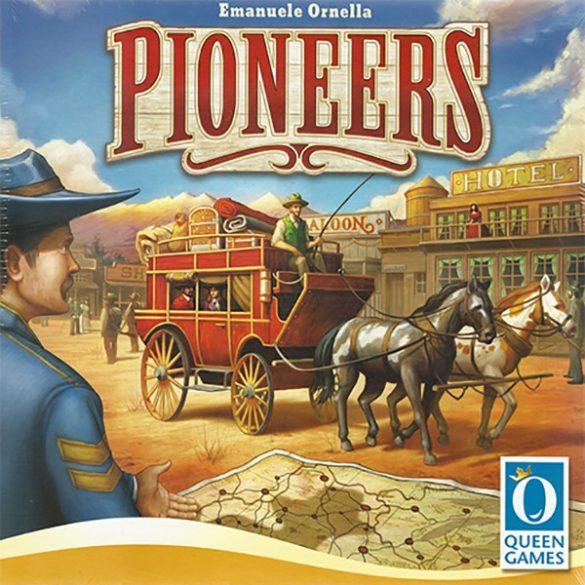 Pioneers társasjáték - Queen Games
